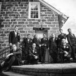 groomsmen the grove wedding photography