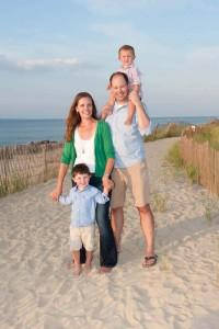 Outdoor  Family Portraits In New Jersey