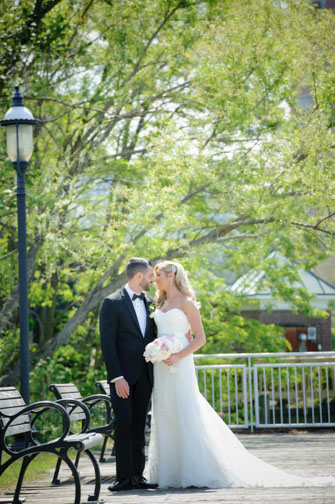 Riverside Gardens Park Red Bank NJ wedding