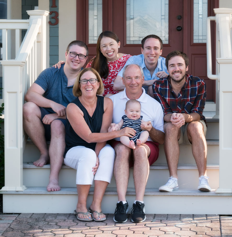 Stone Harbor Family Beach Portrait
