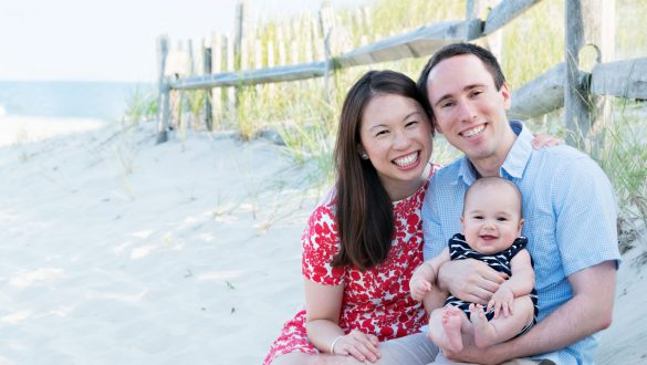Stone Harbor Family Beach Portrait