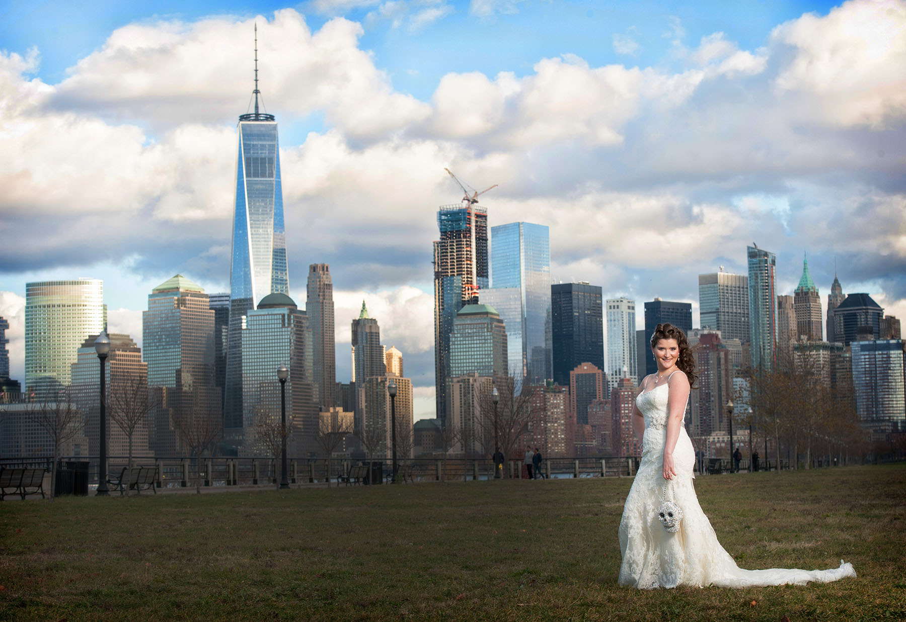 The Liberty House Wedding Photography Jersey City State Park