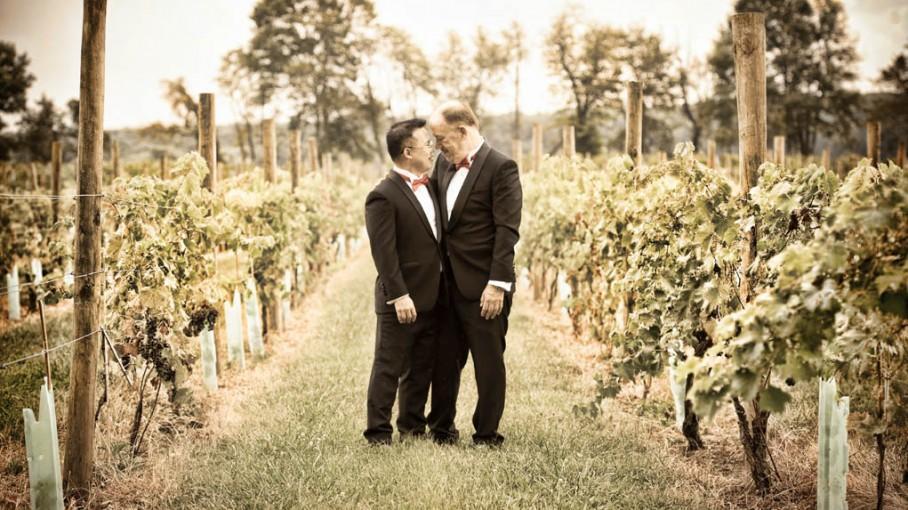 Wedding Unionville Vineyard Winery