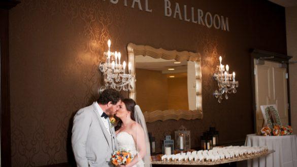 Crystal Ballroom Radisson Freehold wedding photography